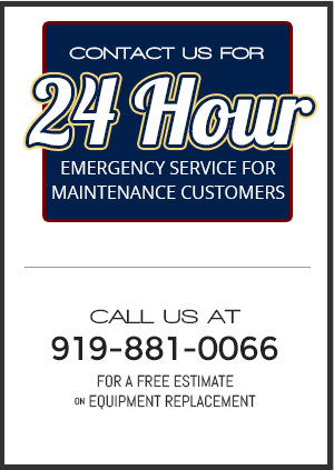 Click Here to Call 24 Hour Emergency Service for Maintenance Customers